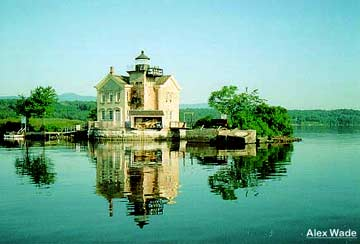 Saugerties Lighthouse photo by Alex Wade